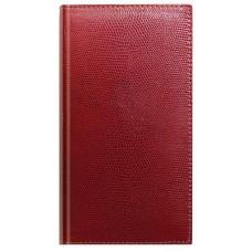 Алфавитная книжка, формат А6+, кожзам, красная