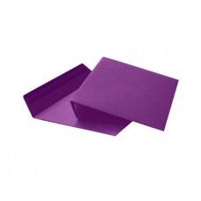 Цветной конверт С6 (114x162), декстрин, бумага 80 гр, фиолетовый
