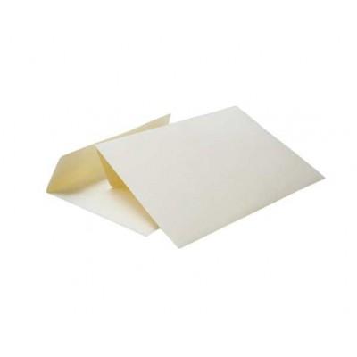 Цветной конверт С6 (114x162) лента, бумага 120 гр, кремовый