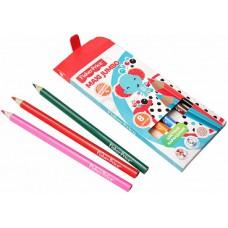 Детские цветные карандаши MAXI Jumbo Fisher Price 8 цветов