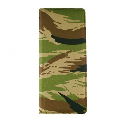 Визитница настольная Military, на 160 карт, камуфляжная ткань, военный принт - пиксели или лесной