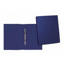 Папка скоросшиватель А4, корешок 15, пластик 0,45 мм, синяя
