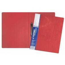 Папка на 2-х кольцах, А4, корешок 25, пластик 0,70 мм, красная