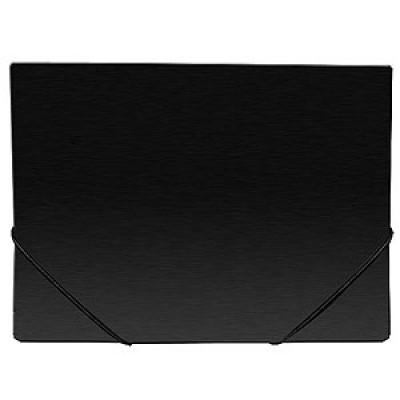 Папка на резинке А4, пластик, Expert Complete, черная, 35 мм