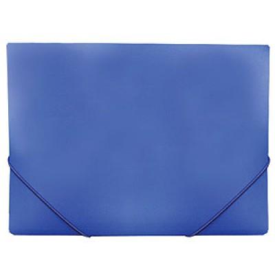 Папка на резинке А4, пластик, Expert Complete, синяя, 35 мм
