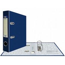 """Папка-регистратор А5, арочный механизм, PVC """"Classic"""" 75 мм, синяя"""