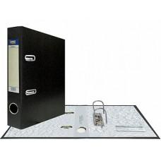 """Папка-регистратор А5, арочный механизм, PVC """"Classic"""" 75 мм, черная"""