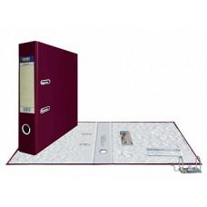 Папка-регистратор А4, обложка PVC, разборный мех., 75 мм, бордо