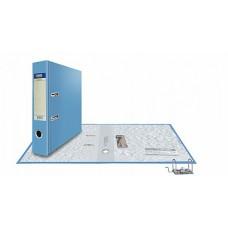 Папка-регистратор А4, обложка PVC, разборный мех., 75 мм, голубой