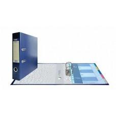 Папка-регистратор А4, обложка PVC, арочный мех., 75 мм, синяя
