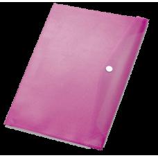 Папка с кнопкой Pierre Cardin, формат А4, пластиковая 370 мкм, бордо