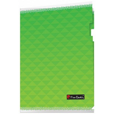 Папка-уголок А4, серия Geometrie Green, пластик 180 мкм