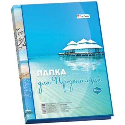 Папка для презентаций А4, пластик, Pierre Cardin Riviera Paradis, 20 мм.
