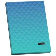 Папка пластик. с прижимом, А4, Pierre Cardin Geometrie Blue