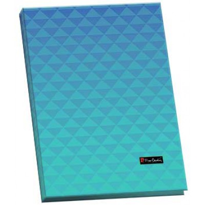 Папка для каталогов А4, пластик, 20 страниц, Geometrie Blue, 15 мм.