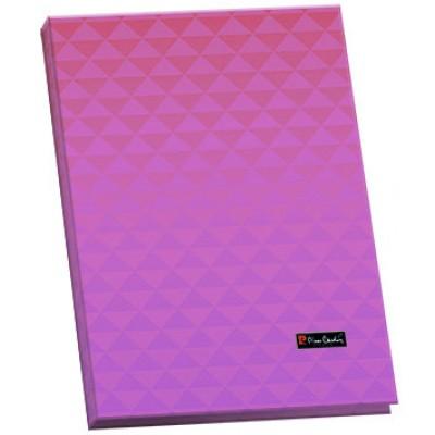 Папка для каталогов А4, пластик, 20 страниц, Geometrie Pink, 15 мм.