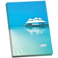 Папка для каталогов А4, пластиковая, 20 страниц, Riviera Paradis