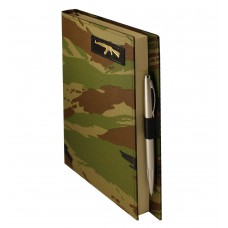 Ежедневник Мilitary, А5, камуфляжная обложка, недатированный