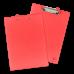 Папка-планшет А4, зажим сверху, экокожа