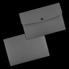 Папки-конверты на кнопке из экокожи, формат А5 / А4