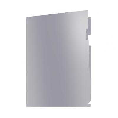 Пластиковая папка-уголок А4 Metallic, без карманов, 180 мк
