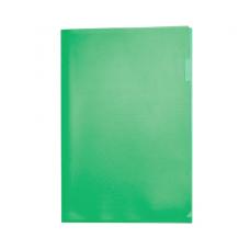 Папка-уголок А4, зелёная, пластик 180 мкм, Expert Complete