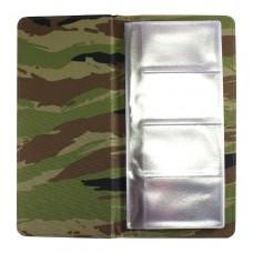Визитница настольная Military, на 160 карт, камуфляжная ткань
